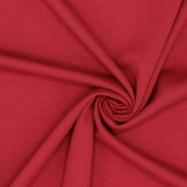 Jersey lourd Milano rouge