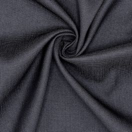 Stretch fabric in viscose - black
