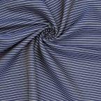 Gesatineerd gestreepte stof met visgraatdessin