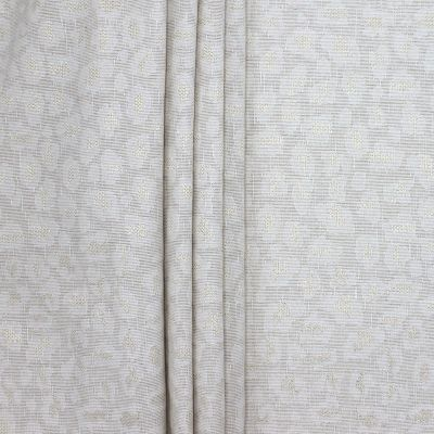 Jacquard upholstery fabric with golden thread