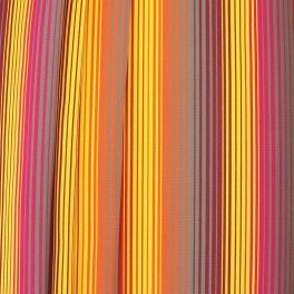 bayadère gestreept buitenstof samba kleurrijk