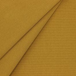Gele dralon stof