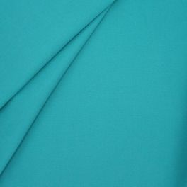 Outdoor fabric in dralon - plain turquoise