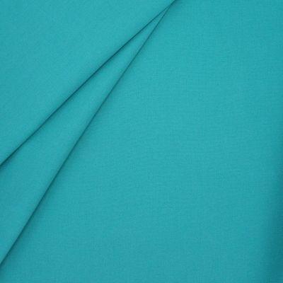 Tissu d'extérieur en dralon uni turquoise