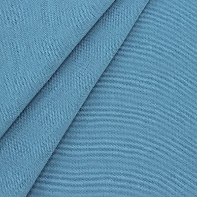 Outdoor fabric in dralon - plain blue