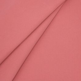 Outdoor fabric in dralon - plain pink tea