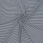 Jersey met fijne zwarte strepen