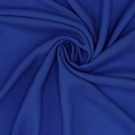 Tissu 100% rayon bleu roy