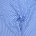 Cotton with blue stripes
