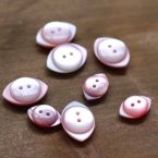 fantasy resin button - pink