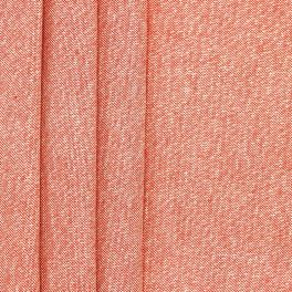 Upholstery fabric with lurex - plain coral