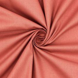 Toile à drap en coton uni incarnadin