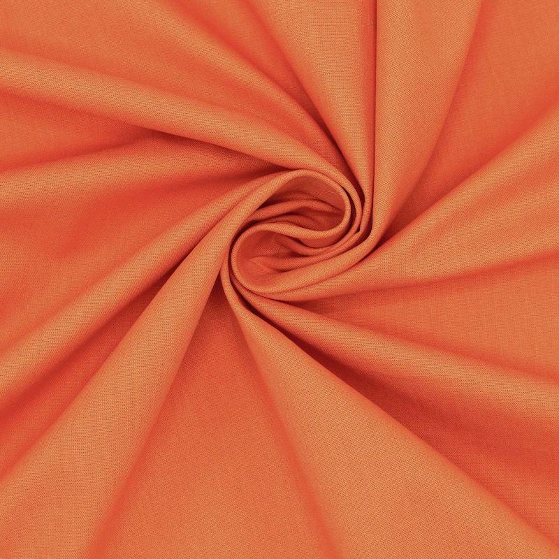 Toile à drap en coton uni orange