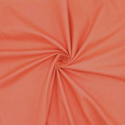 Toile à drap en coton uni corail