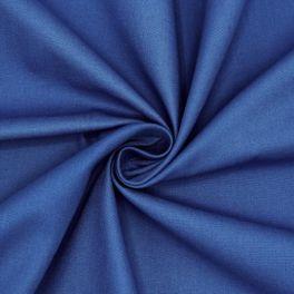 Toile à drap en coton uni bleu