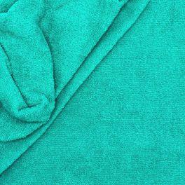 Blauwe badstof