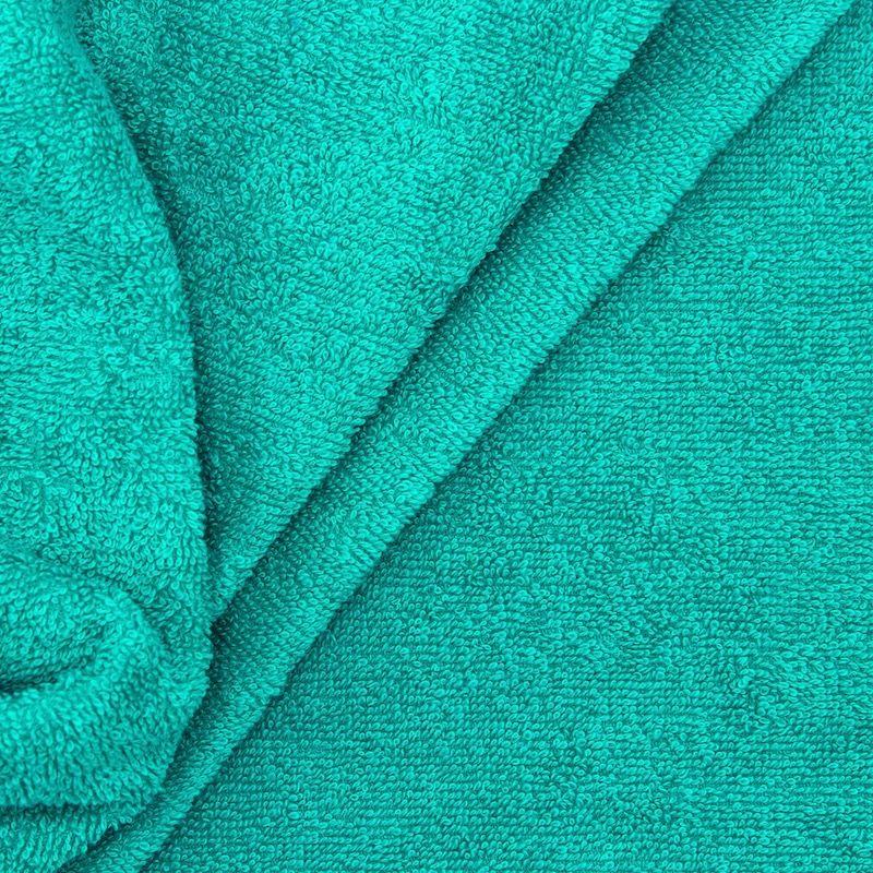 Celadon blue terry fabric