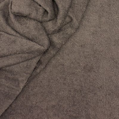 Anthracite Grey terry fabric