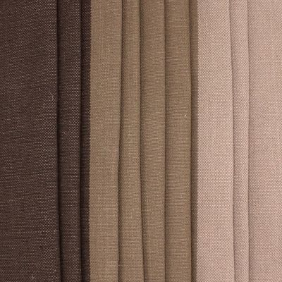 Upholstery fabric - beige and gold