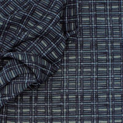 Crêpe of printed wool