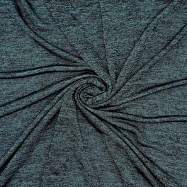 Tissu en jersey jaspé canard