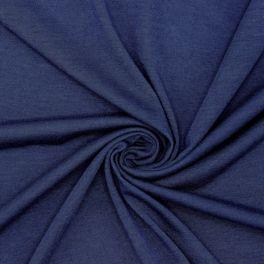 Jerseystof - marineblauw