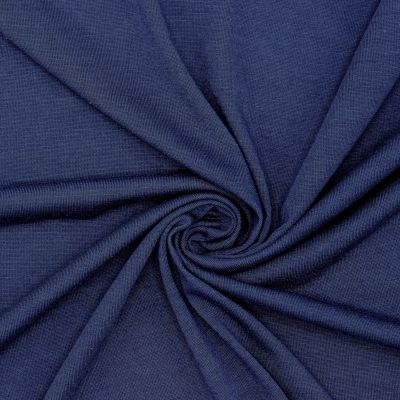 Jersey fabric - navy blue