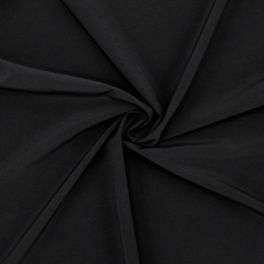 Bi-stretch fabric - black