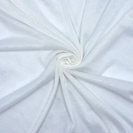 Light jersey fabric - white