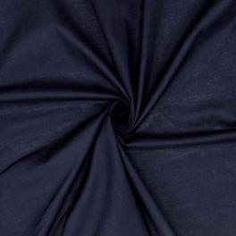 Rekbare katoen - marineblauw