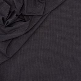 Cotton and polyester fabric - midnight blue
