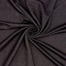 Jersey effet jeans noir
