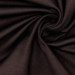 Stretch cotton with twill weave - brown