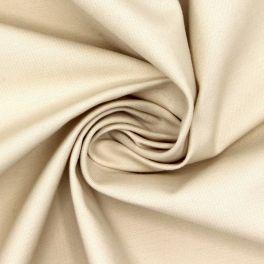 Stretch cotton with twill weave - vanilla