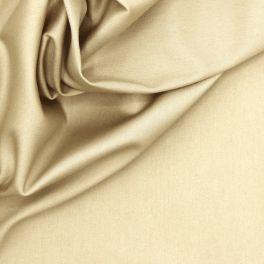 Stretch canvas van katoen - beige