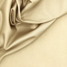 Toile de coton stretch beige
