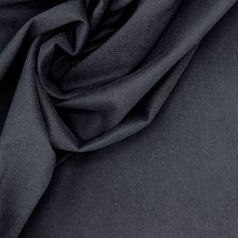 Stretch verzacht canvas - donkerblauw