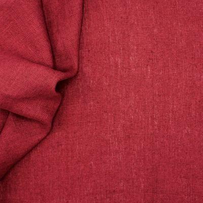 Effen zwarte stof 100% linnen