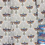 Jacquar upholstery fabric with pattern