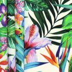 Tissu d'extérieur imprimé floral