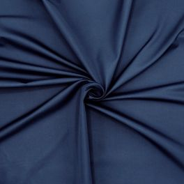 Water-repellent microfibre fabric - navy blue