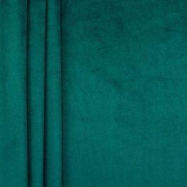 Tissu velours souple canard