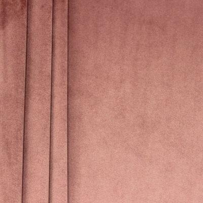 Tissu velours souple vieux rose