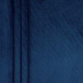 Soepele fluweel - marineblauw