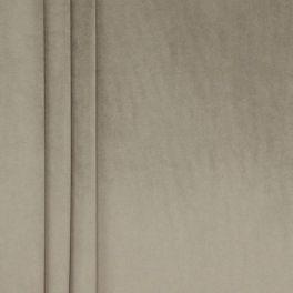 Tissu velours souple taupe