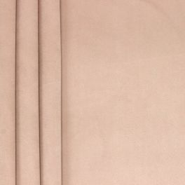 Tissu velours souple rose