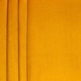 Soepele fluweel - geelbruin