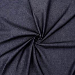 Extensible apparel denim fabric