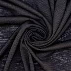 Jersey crêpe - black