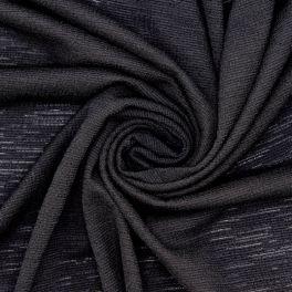 Crêpe jersey noire
